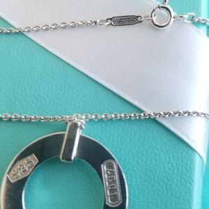 Tiffany & Co. Jewelry - 1837 circle pendant necklace